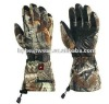 Rechargeable Li-ion Battery Heated Camo Hunting glove HYHG-022