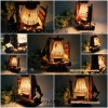 retro wood boat lamp ,christmas gift/birthday gift/home decoration