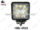 "4x4 offroad 4""round 24W Epistar LED Work Lamp, LED worklight , Industrial and Agricultural lights"