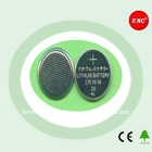 Long Discharge Time 3V CR1616 Rechargeable Lithium Button Cell Battery