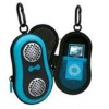 Fashion portable stereo speaker case