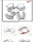 Chrome Door Scratch Handle Bowl FOR Hyundai ix35 Tucson 2010 2011