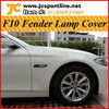 Carbon fiber F10 Fender lamp cover for BMW F10