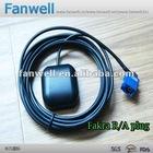 high gain gps antenna with Fakra right angle plug