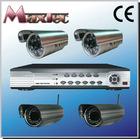 4 CH H.264 DVR & 4 outdoor Camera cctv dvr system kit