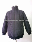 Mens winter duck down feather jacket coat