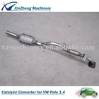Direct-Fit Catalytic Converter for VW Polo 1.4-Manual