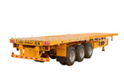 40FT 3-Axle Flatbed Semi-Trailer