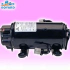 Truck sleeper of 12/ 24VDC air conditioner compressor for cabin of Excavator crane crab forklift