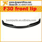 JC Design Carbon Fiber F30 Front bumper lip for BMW