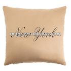 Antique Square New York Decorative Cushion