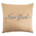 Antique Square New York Decorative Cushion