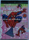 Spider-man sticker book