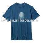 newest fashion OEM service embroidered printing logo basic t-shirt