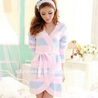 ladies' cotton coral fleece pajama