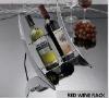 strainless steel red wine holders