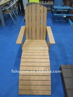 HJ-Imitation Wood Beach Chair
