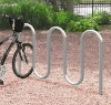 Stainless Steel Wave 5 Bike Racks