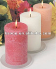 Scented Art Pillar Candle