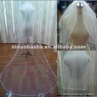NW-317 Ribbon Diamond Edge Long Wedding Veil