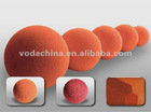 rubber sponge ball size: 17mm, 19mm, 20mm, 21mm, etc