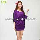sexy casual dress ladies home wear stlye