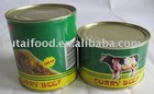 Halal Food: Canned Curry Beef