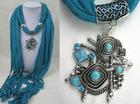 alloy pendant scarf jewellery