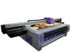 UV LED Printer with 2 pieces of DX5 print head(Sheet to Sheet and Roll to Roll)