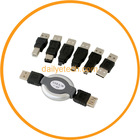 6 in1 USB Adapter Travel Kit Cable to Firewire IEEE 1394