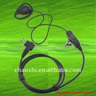 D-Loop Earpiece with Inline Push-to-Talk Microphone For Motorola 56517