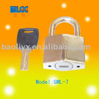 Rhombus security padlock