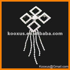 2012 latest exquisite rhinestone brooch