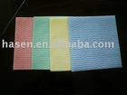 non-woven cleaning wipe