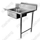stainless steel soiled dish table