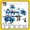 Police station of Building block toys
