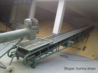 Concrete belt conveyor with large load capacity