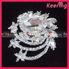 Promotional Fashion bulk rhinestone brooch for wedding invitations WBR-901