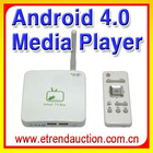 2012 best Full HD media player with Android 4.0 OS