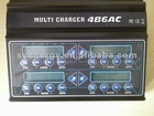Multi charger 4B6AC with power supply