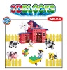 constructor toys of happy farmland,excellent block toys