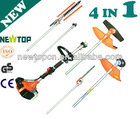 4 in 1 multifunction garden tool,pole saw,brush cutter,grass trimmer,hedge trimmer