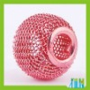 BB007 wholesale shamballa mesh beads