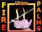 Top Quality Fire From Palms-Flame From Empty Hands, Magic Fire, Magic Tricks for Christmas