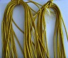 gold/silver metallic cord