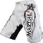 men blank crossfit shorts plain mma shorts