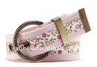 Fashion canvas jeans belt for girls