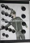Black bulk buttons