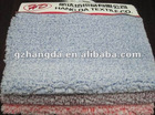 woven polyester paint fabric with blue&white dot