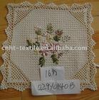 ribbon embroidery doily